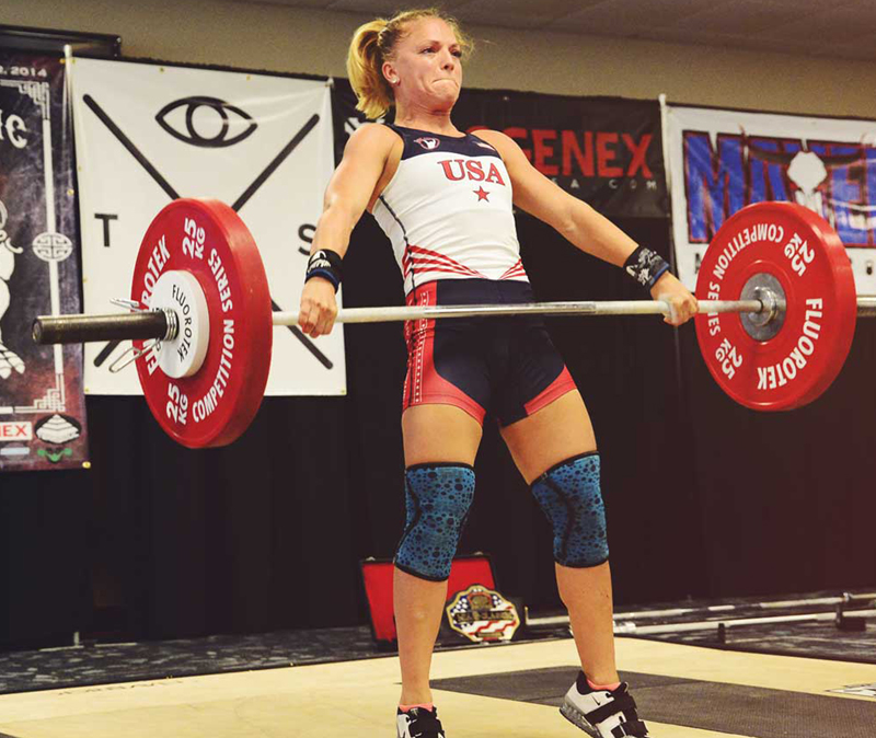 Morghan King crossfit